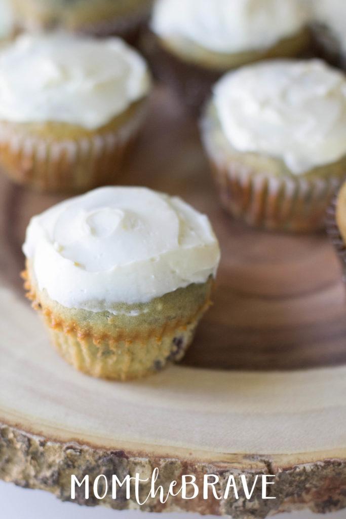 Cherry Cheesecake Muffins