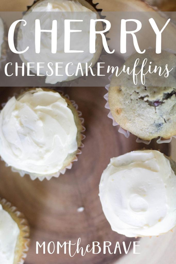 Cherry Cheesecake Muffin
