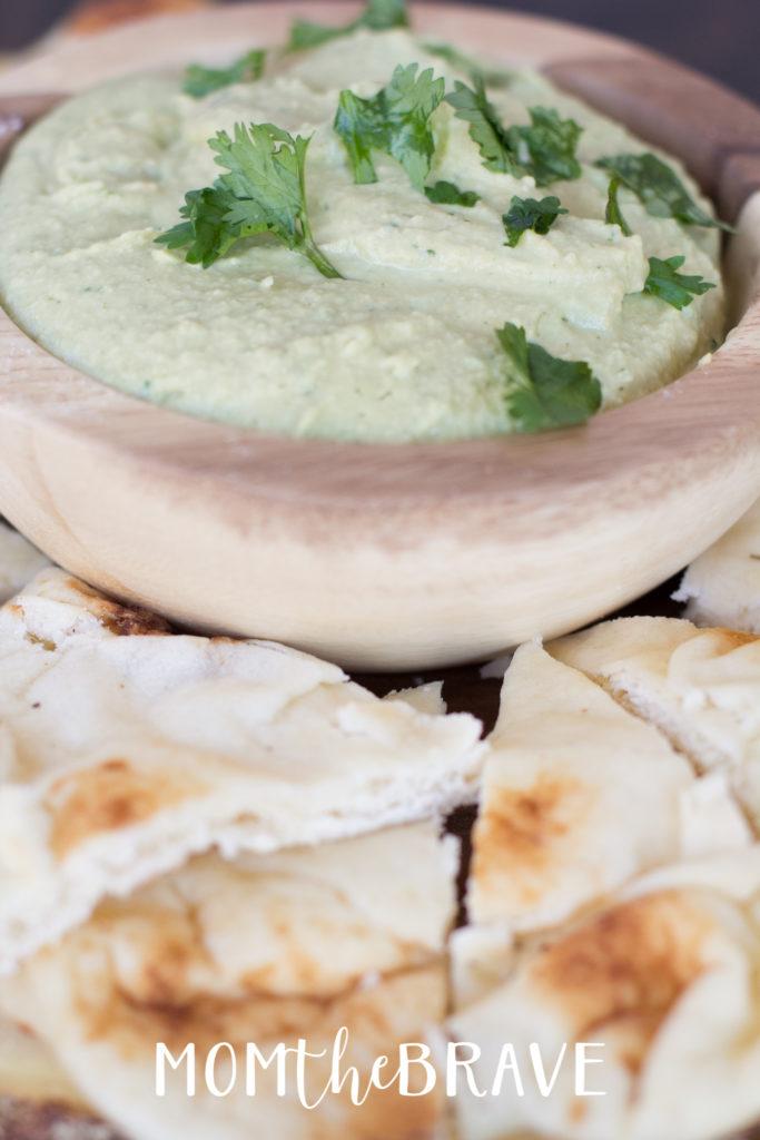 jalapeno cilantro hummus