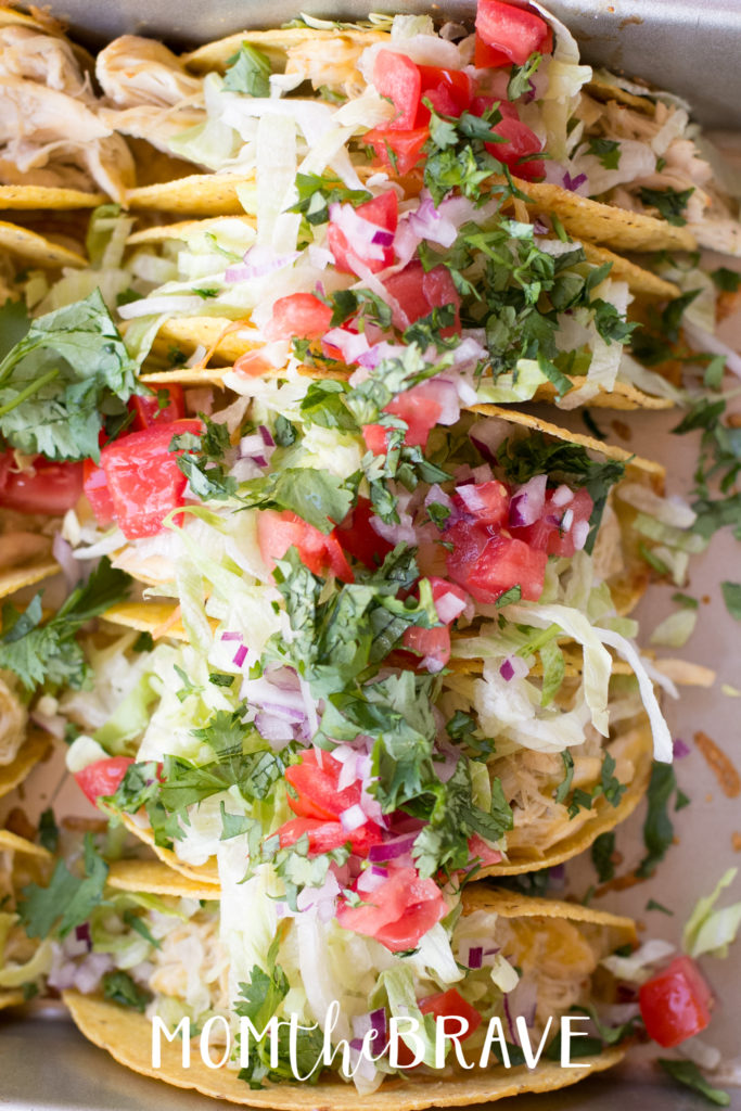 A Green Chicken Enchilada Tacos recipe that the whole family will love.