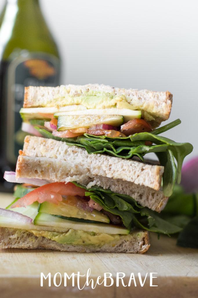 classic veggie sandwich