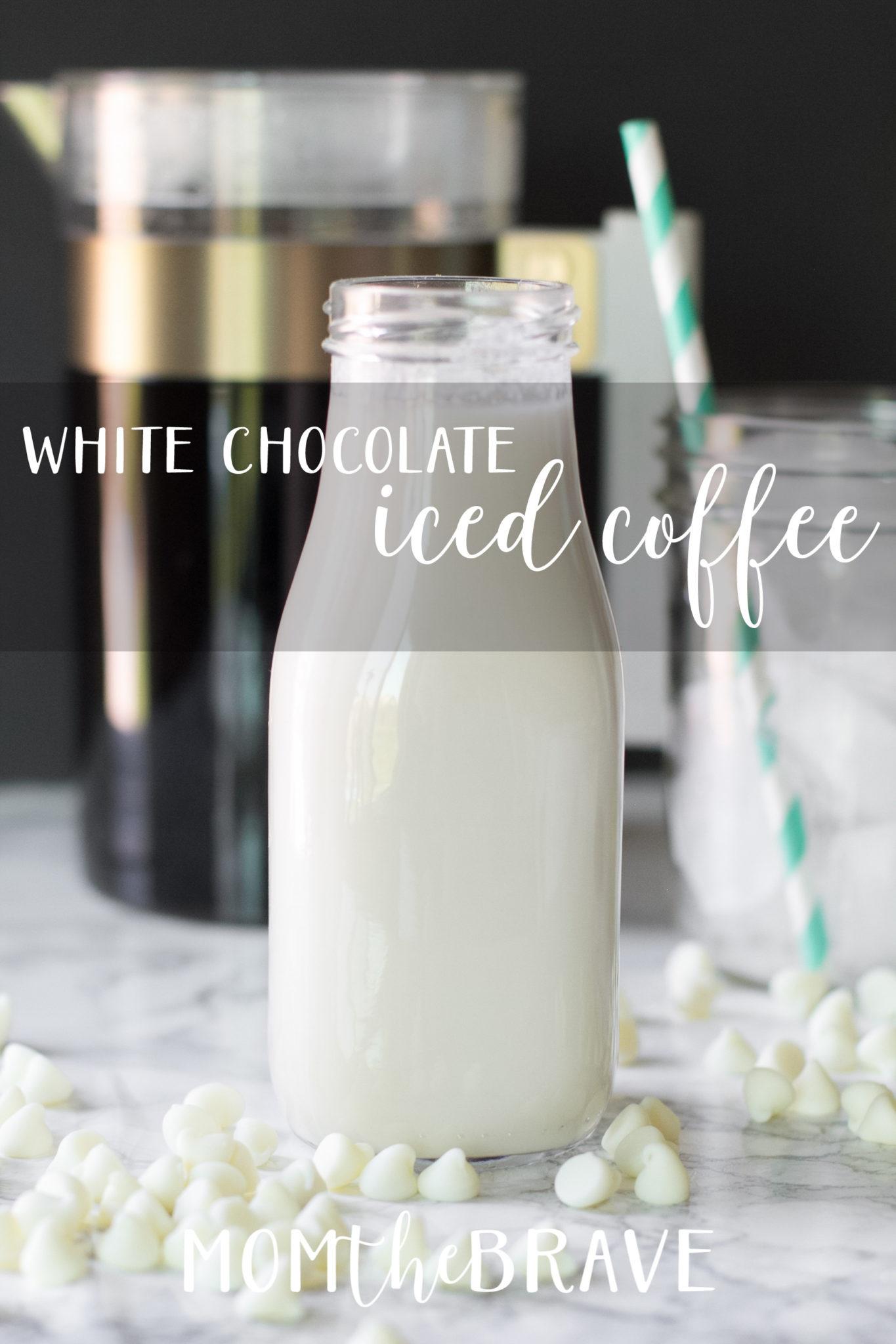 White Chocolate Iced Coffee